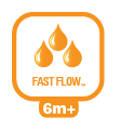 Natural Flex Fast flow speen